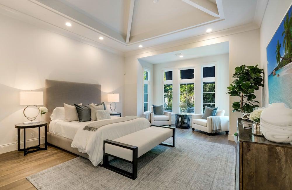 Luxury bedrooms in Florida